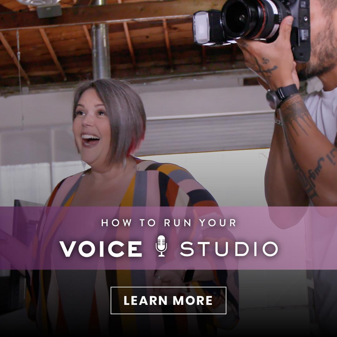 How To Run Your Voice Studio