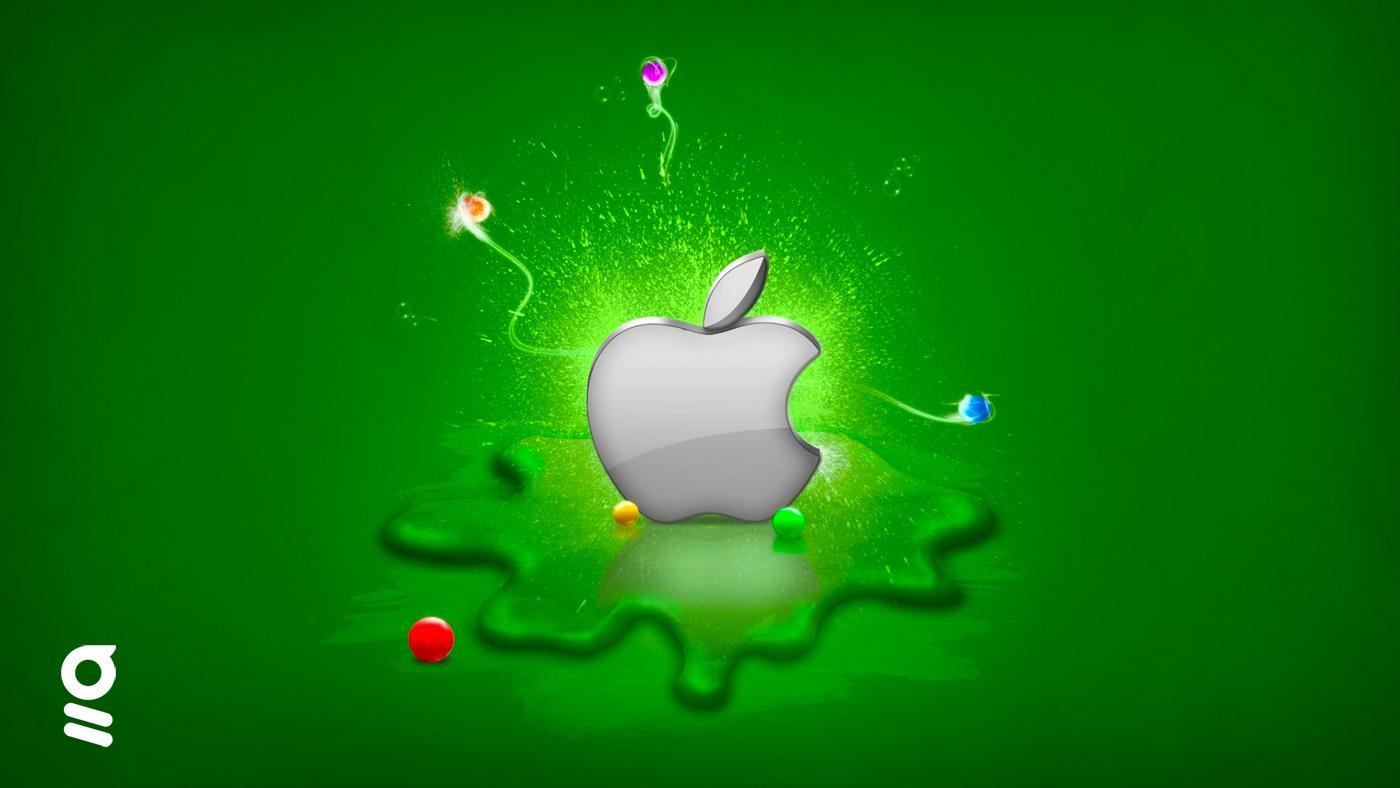 logo apple IOS 14