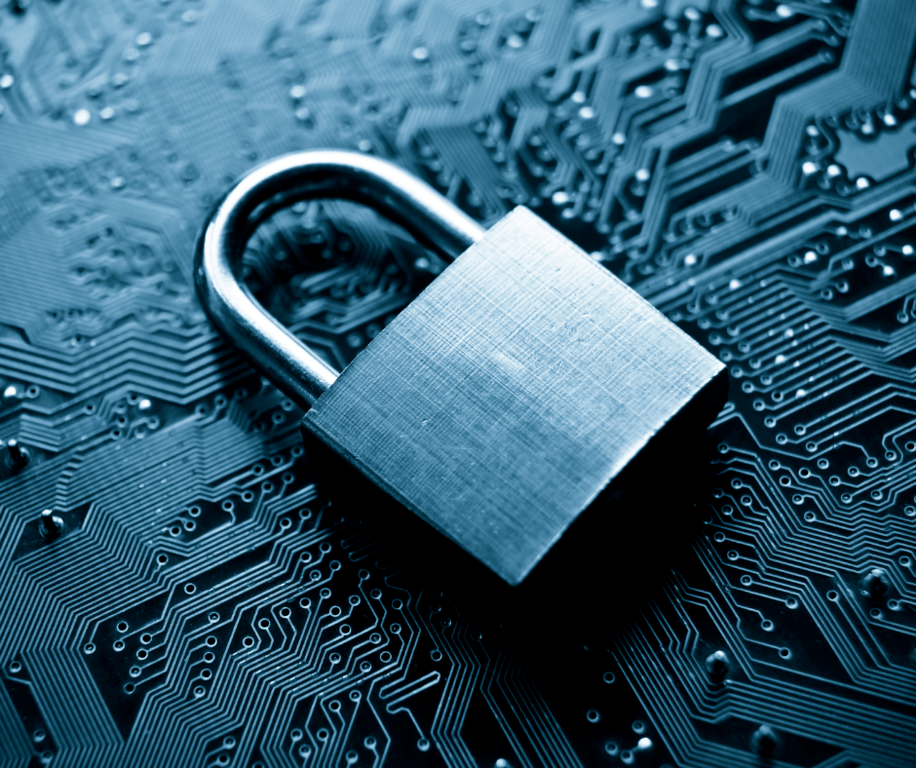 blue lock on software to signify locked talent