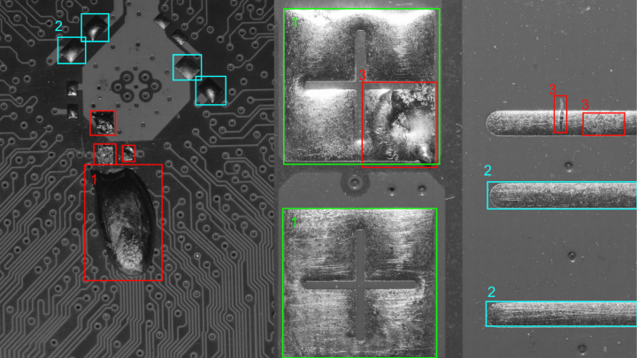 AI machine vision software proves useful in applications such as automated defect detection.