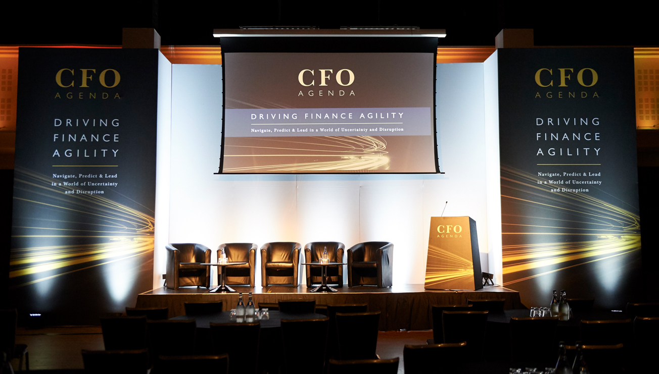 CFO Agenda stage set