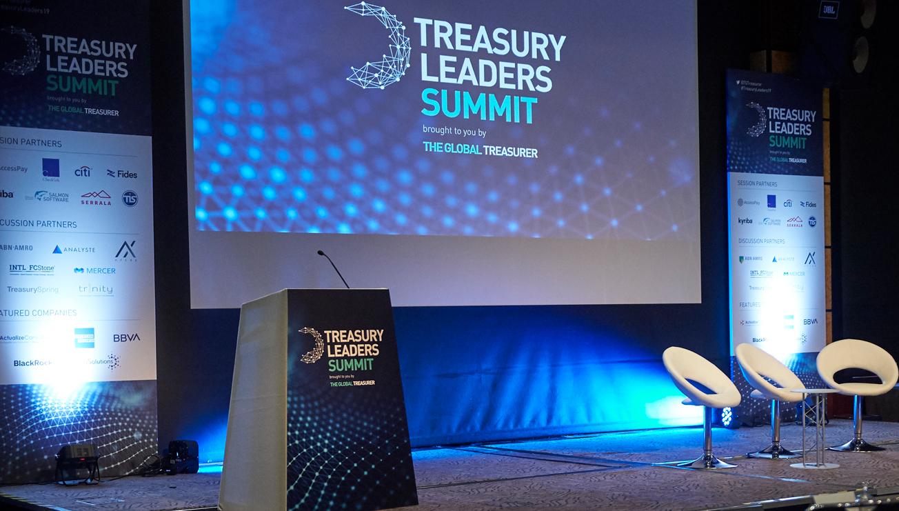 Treasury Leaders Summit stage set