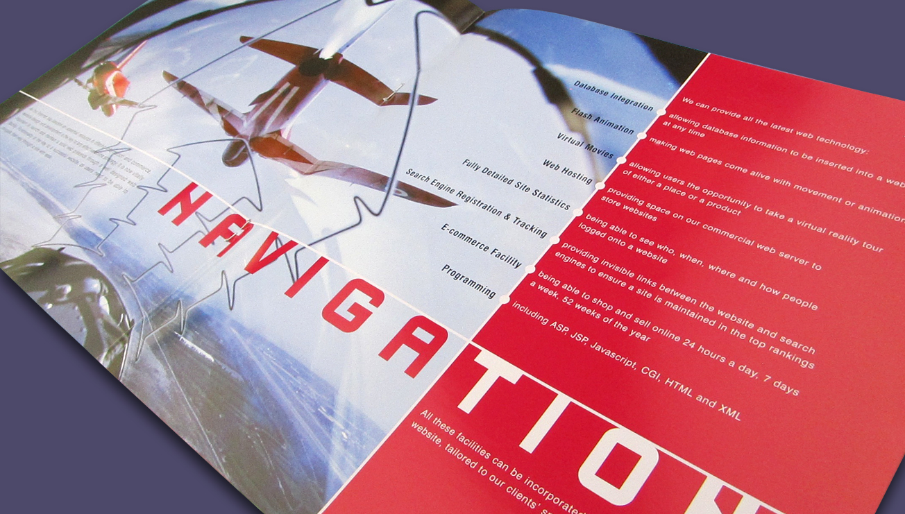 DCM Graphics brochure design