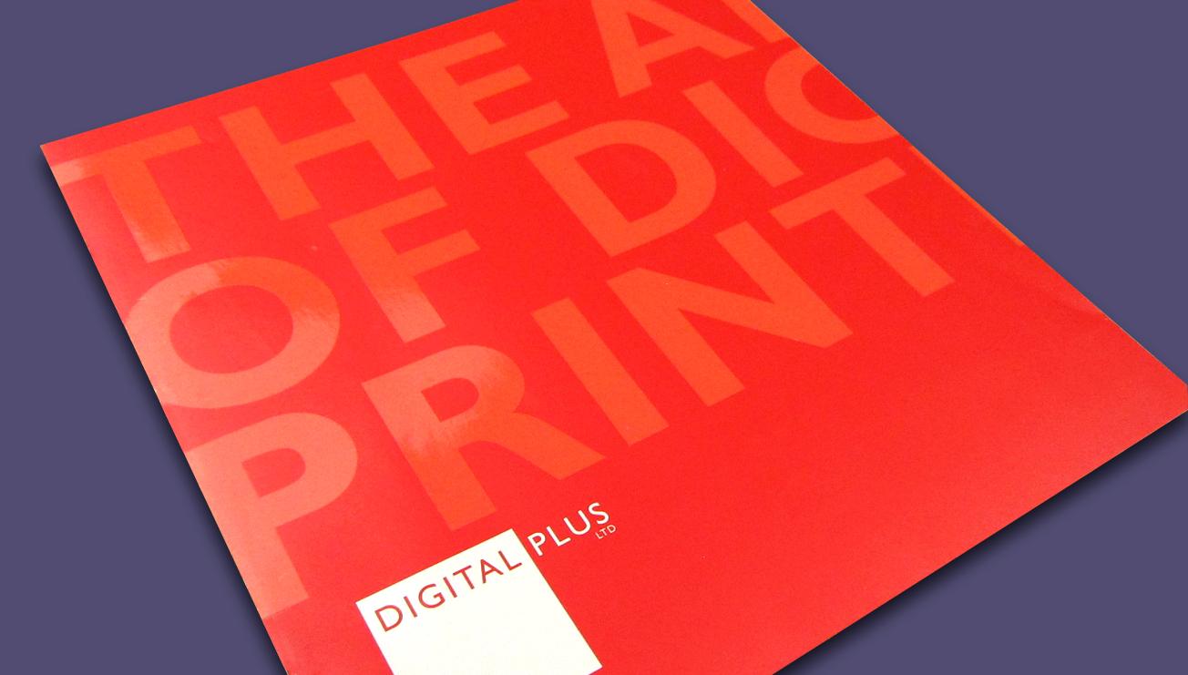 Digital Plus brochure design