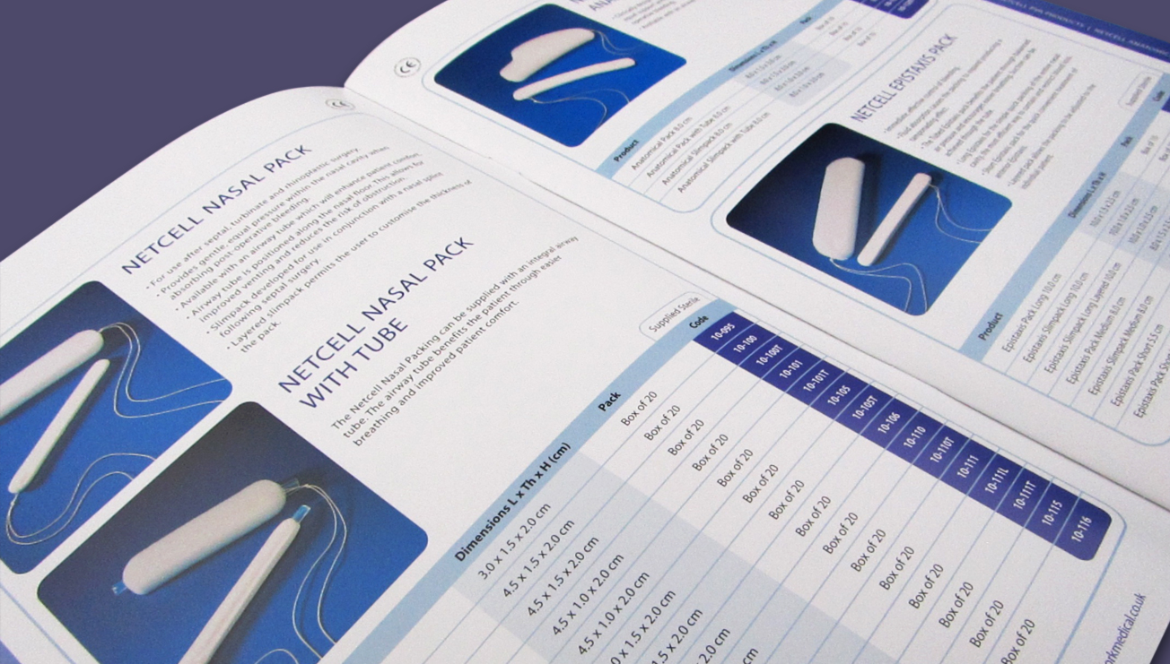 Network Medical Products brochure design