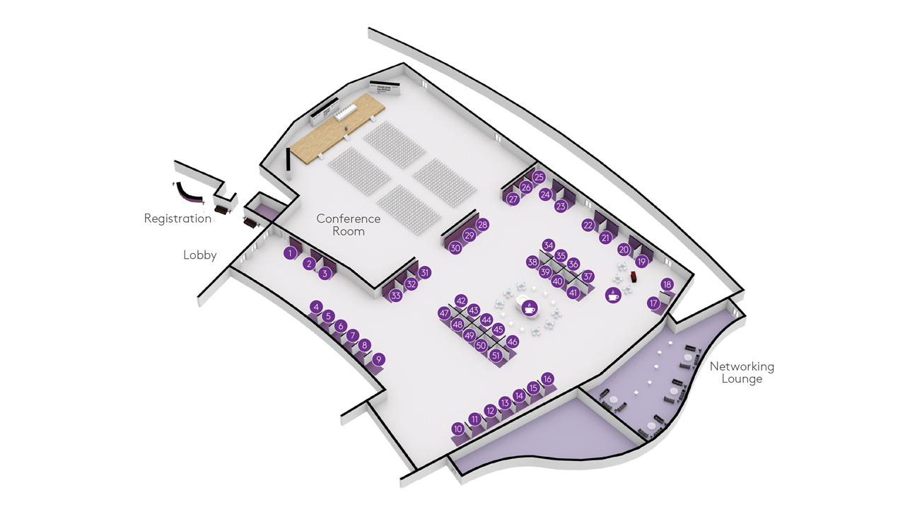 Middle East Iron & Steel conference floorplan