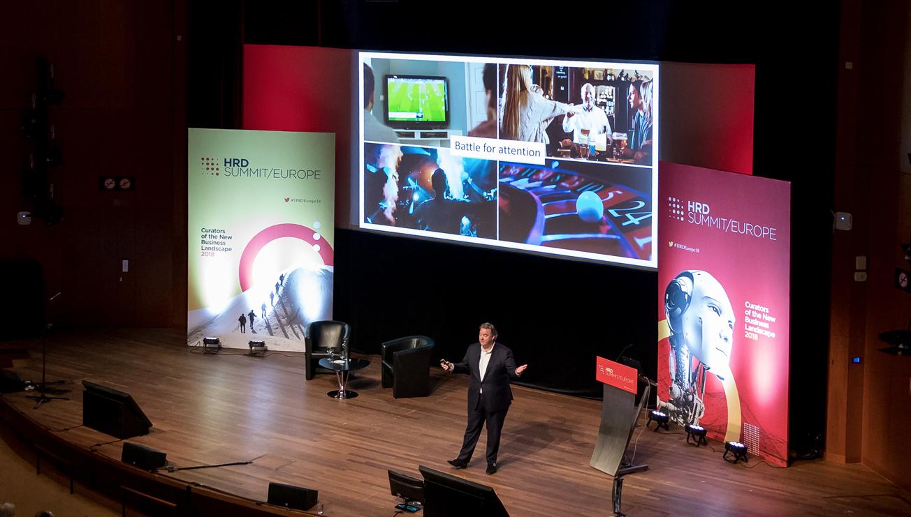 HRD Awards Stage Set Graphics