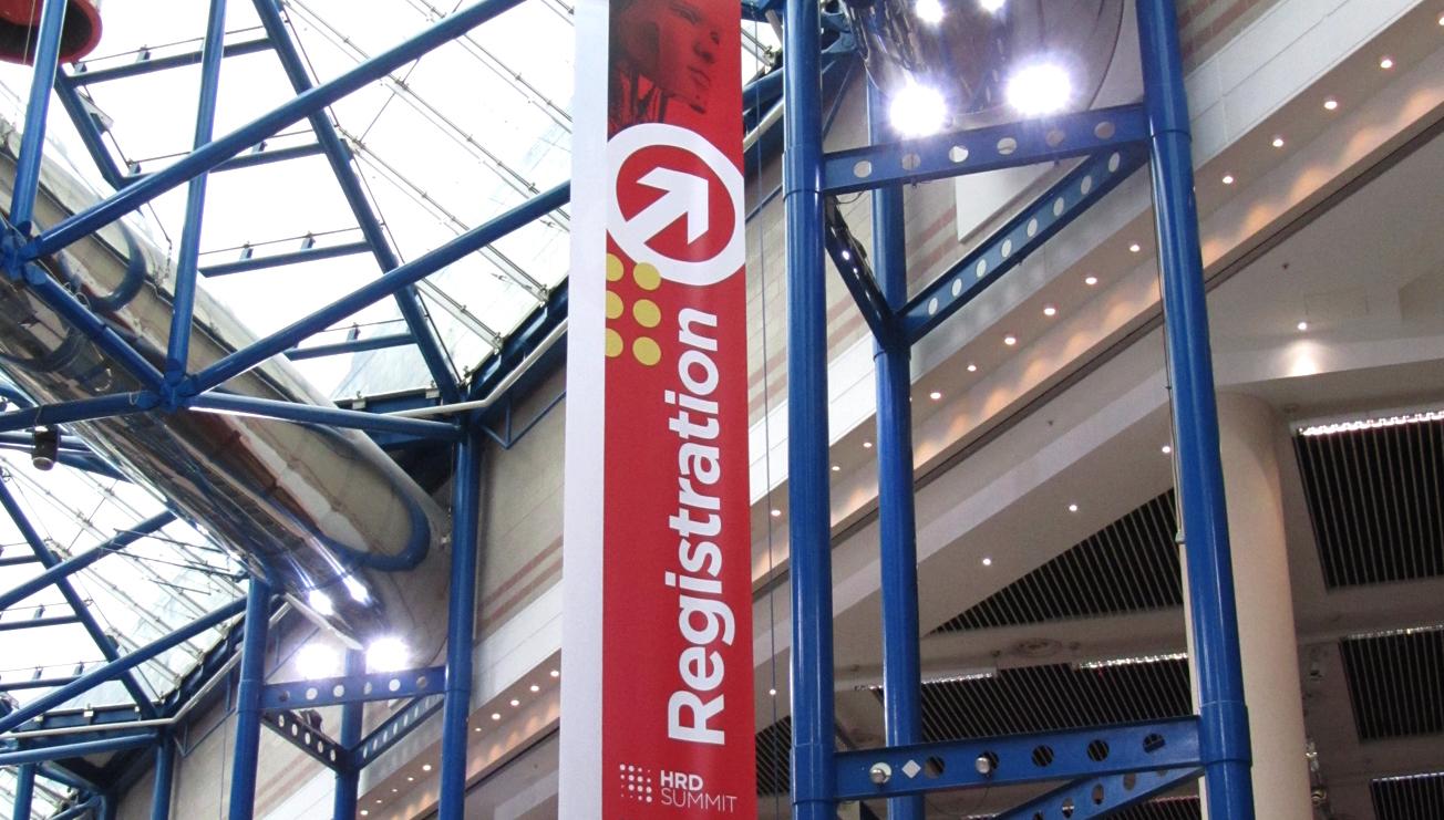 HRD Summit Banner Signage