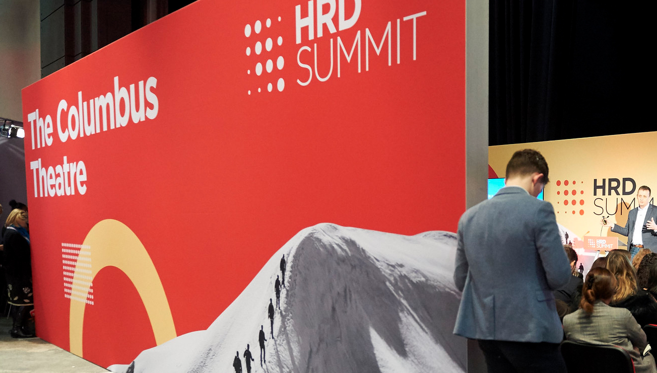 HRD Summit Exhibition Wall Graphic