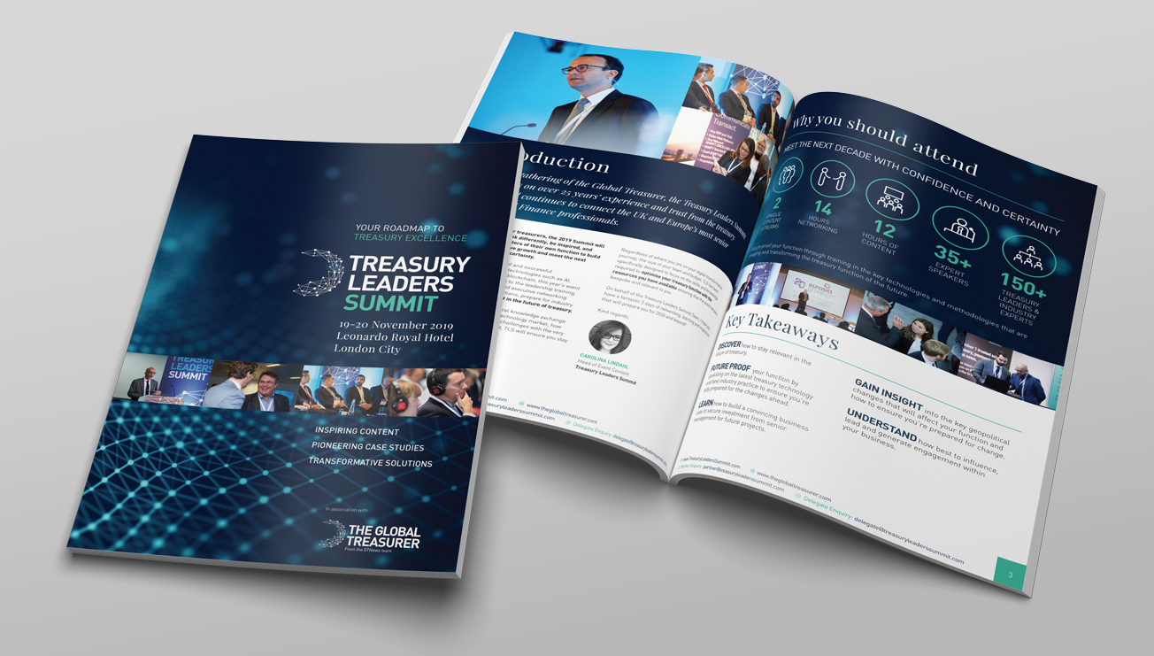 Treasury Leaders Summit Event Brochure