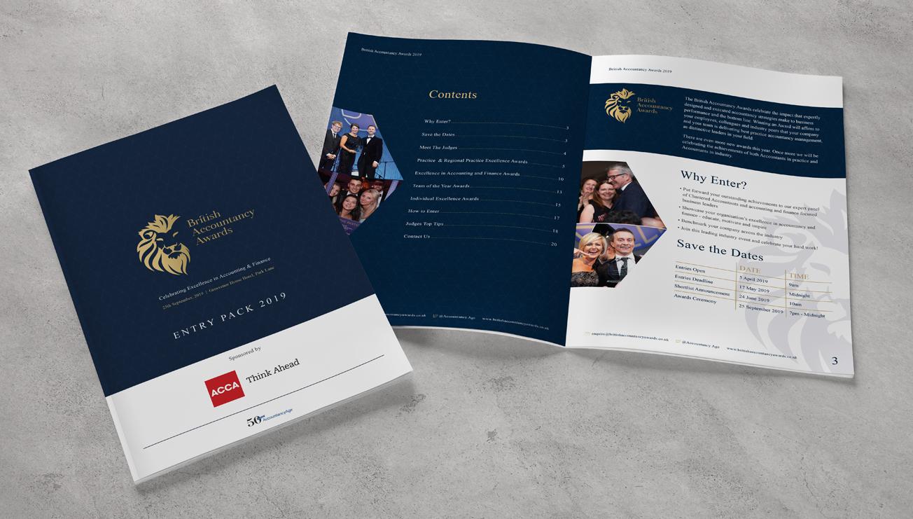 British Accountancy Awards Entry Pack