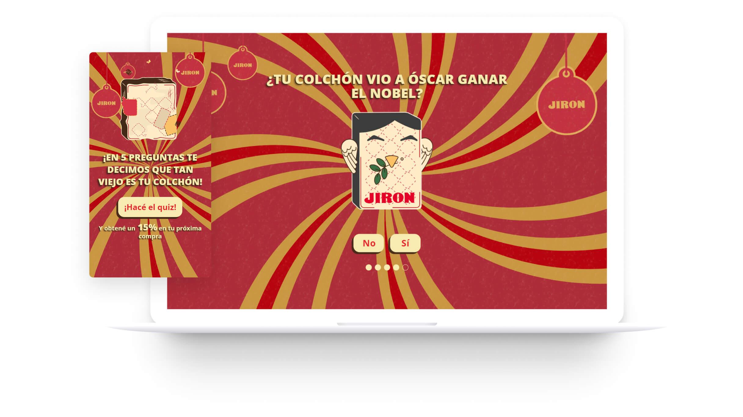 Sitio Web Campaña Cambia Colchón Costa Rica Jirón