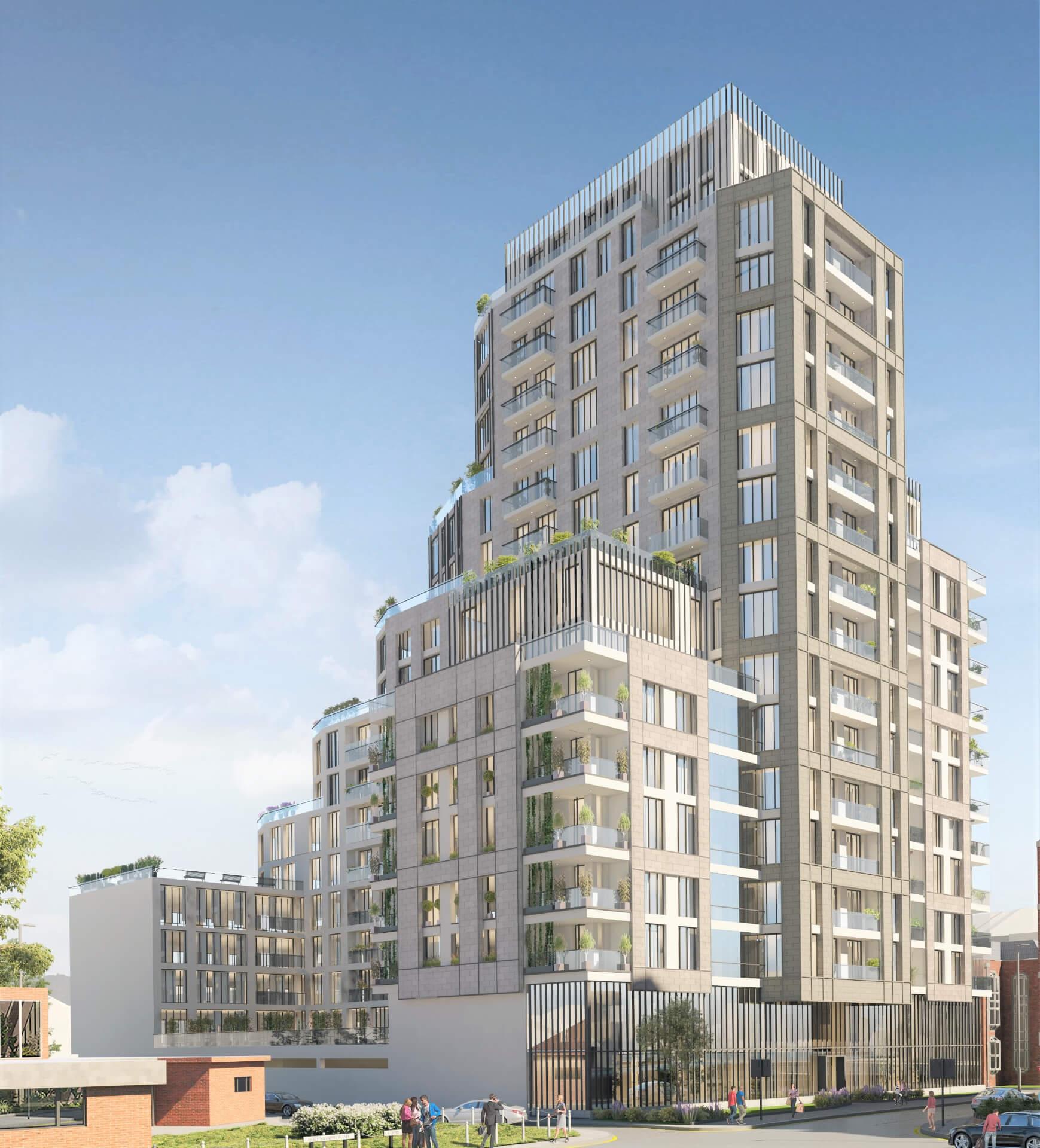 Westmede Premier Gateway Building Frontsite