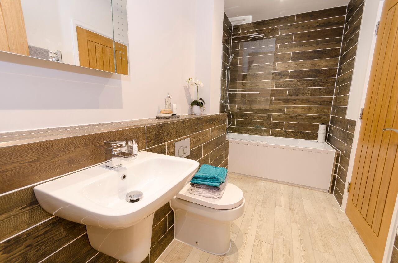 Saxon Gate New Bathroom