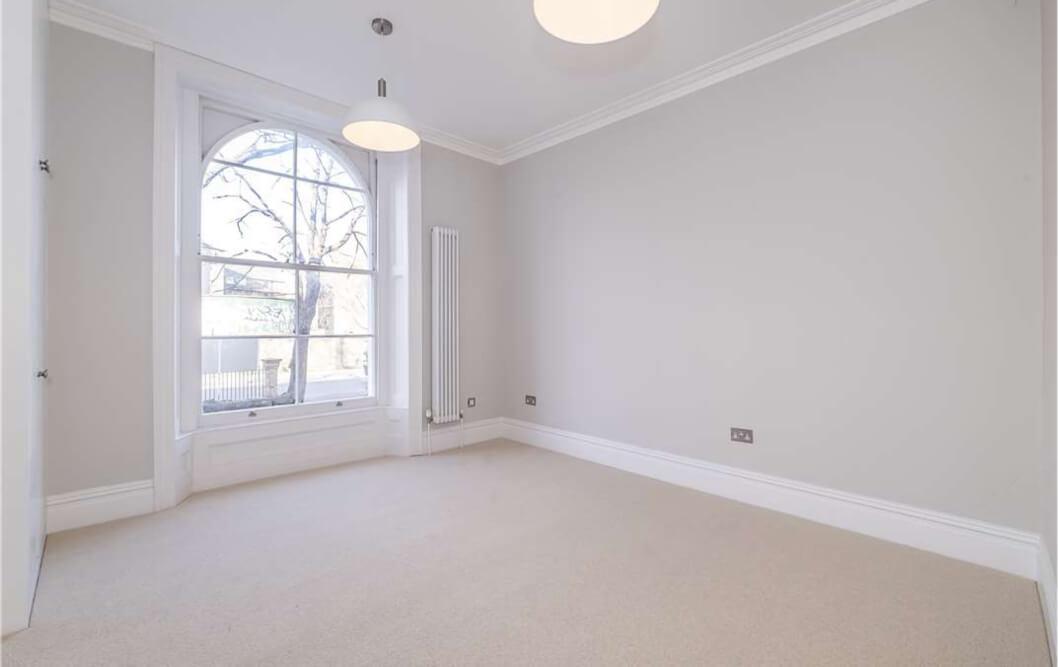 Clapham Empty Room Big Window
