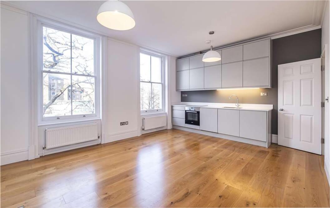 Clapham White Grey Kitchen