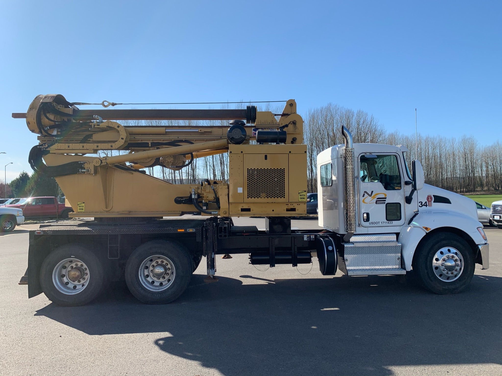 Lateral Drill Truck at Northeast Electric