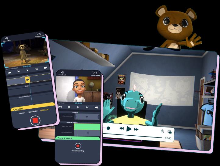 Aquifer animation platform
