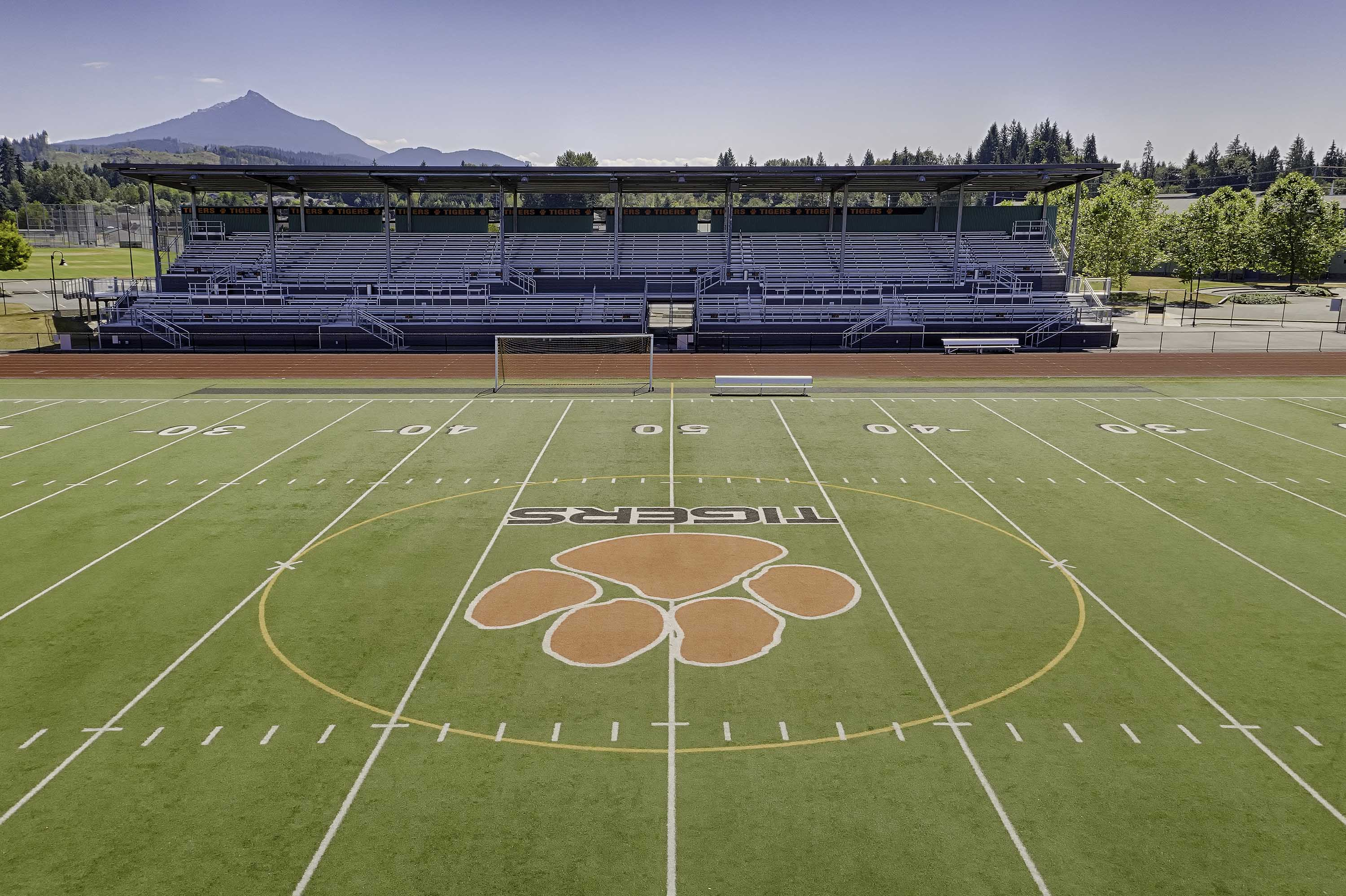 Picture of the Football field at Granite Falls High School Football Stadium