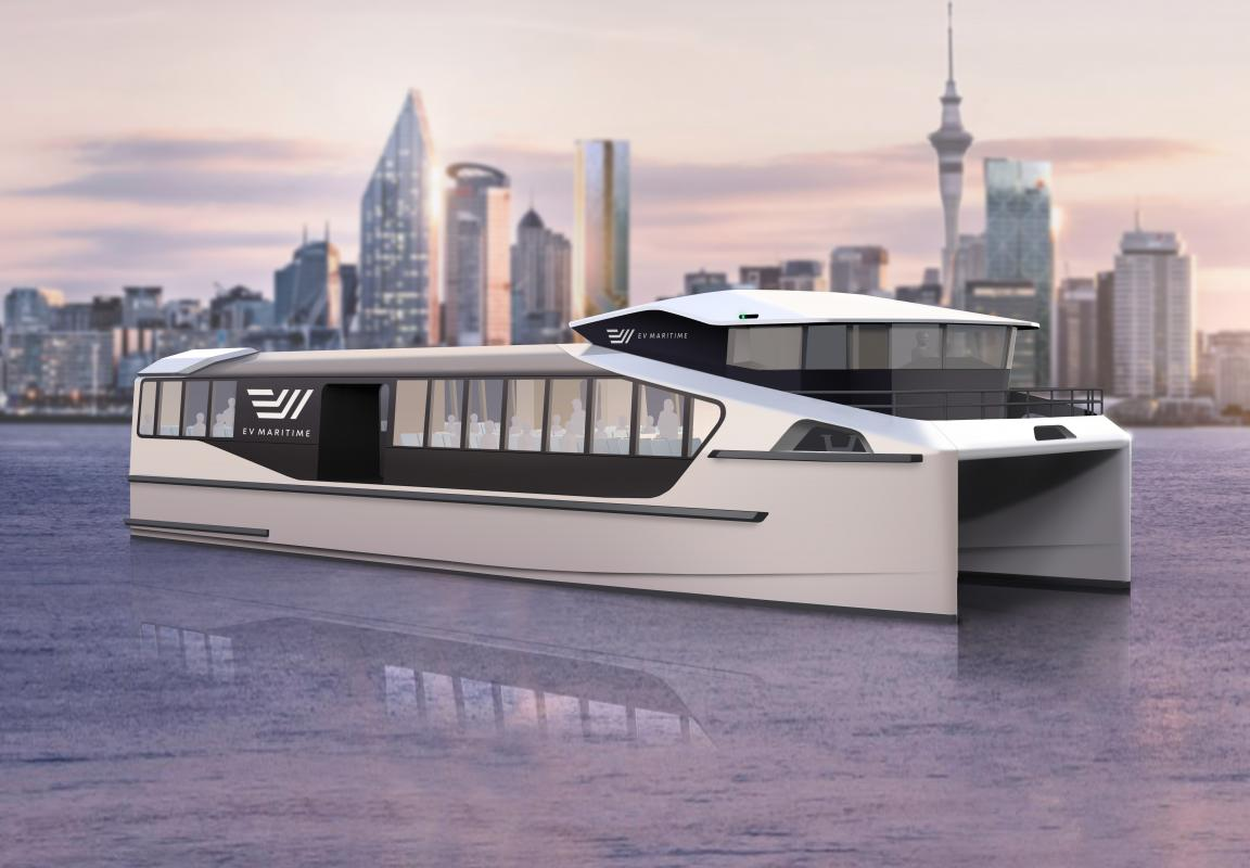 Fast track to electric ferries