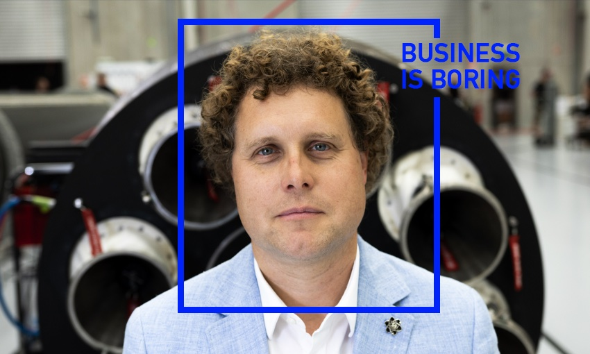 Business is Boring: Rocket Lab's Peter Beck on joining the space club