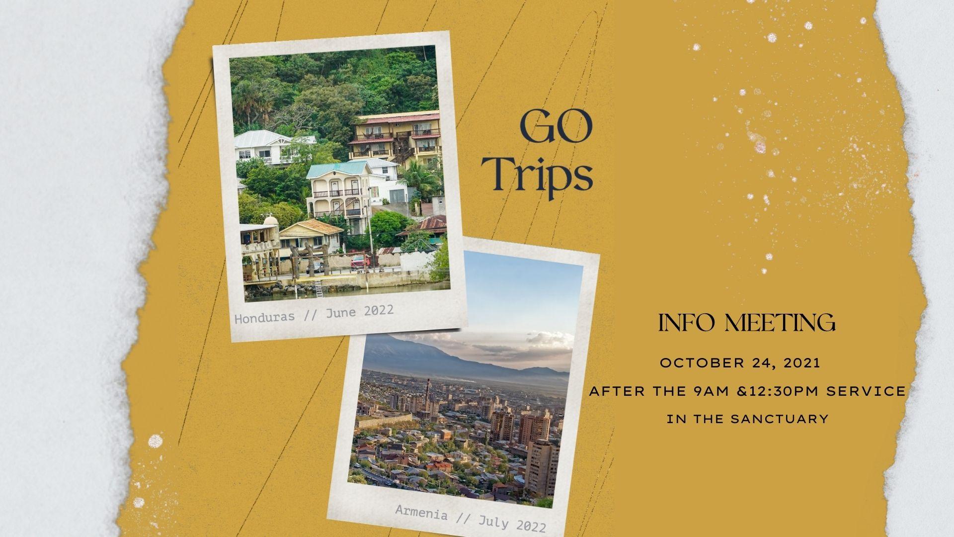 GO Trip Info Meeting
