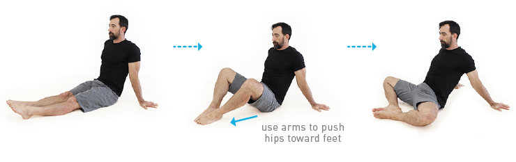 hip mobility traveling butterfly exercise