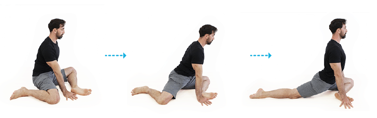 pigeon stretch for hip mobility