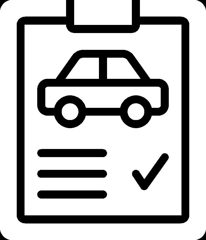Paper checklist icon