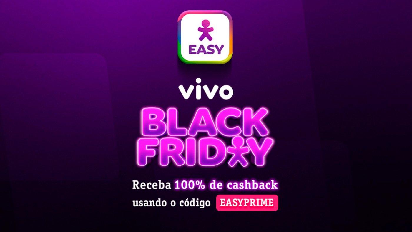 Vivo antecipa Black Friday e oferece cashback de 100% de retorno