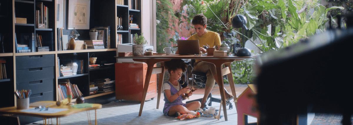 Vivo Empresas apresenta novo filme com tema mãe e filha