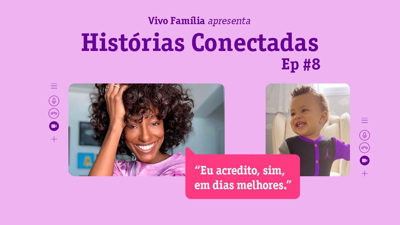"""Pathy Dejesus na segunda temporada de """"Histórias Conectadas"""", da Vivo"""