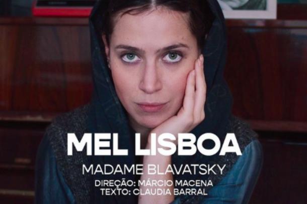 Mel Lisboa encerra a programação 2020 do Teatro Vivo em Casa