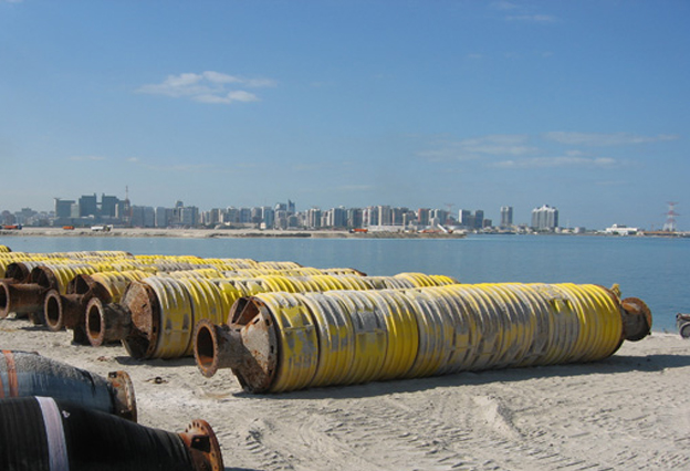 More then 10 year old floating pipeline