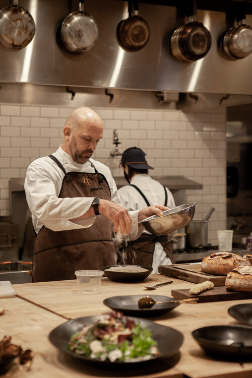 Chef Andrew Biggs - Events at Hunt & Gather - Portland Catering and Events Company