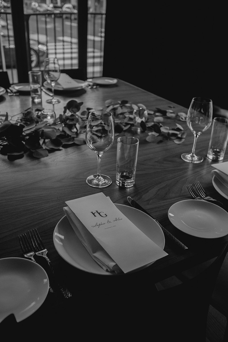 Menu at Events at Hunt & Gather - Portland Catering and Events Company