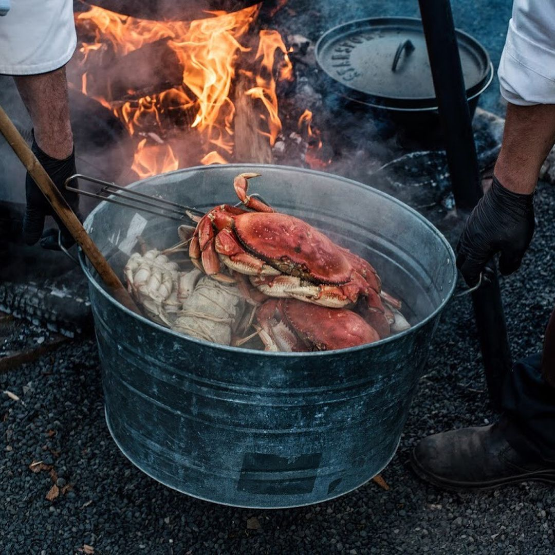 Crabs by Hunt & Gather Catering