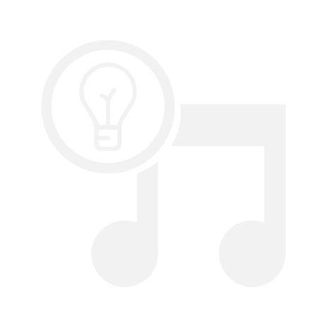Music Icon with light bulb