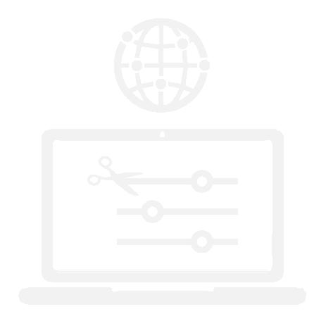 Laptop Icon with Internet Symbol