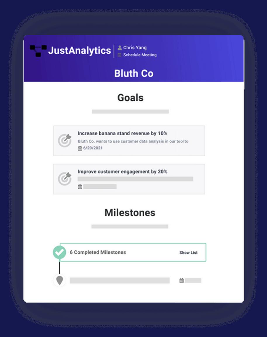 Screenshot of customer review feature