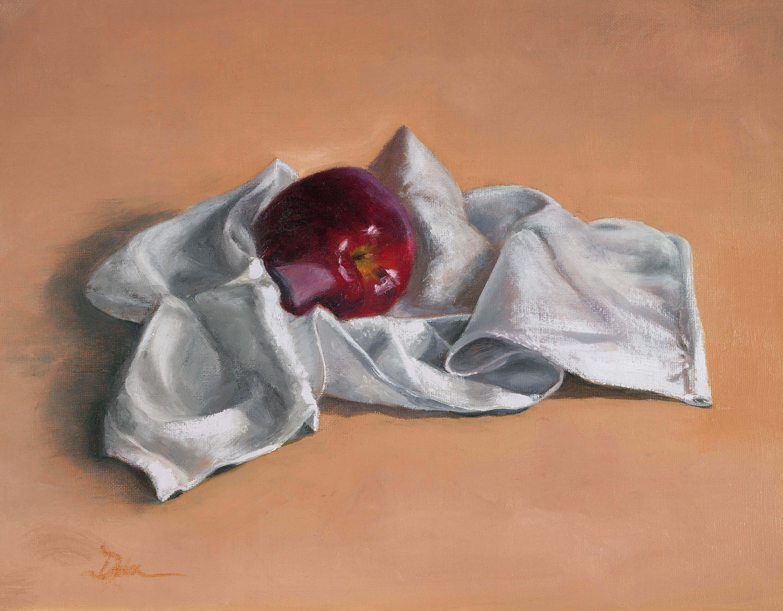 Apple in Towel