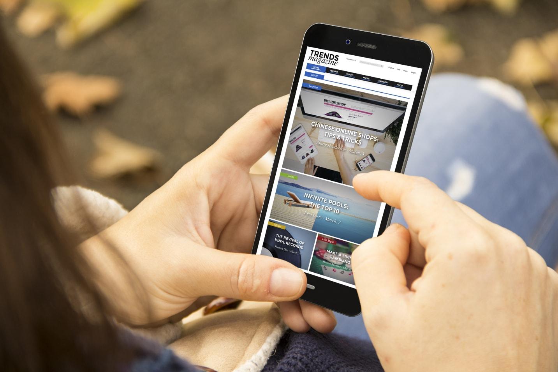 Website optimized for mobile.