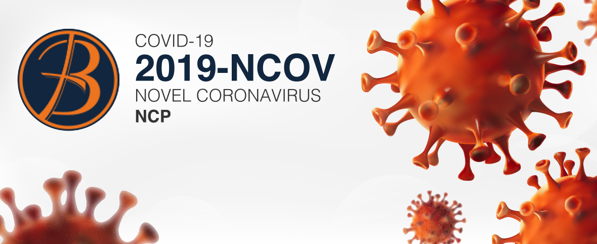 COVID 19 (CORONAVIRUS) UPDATE + A MESSAGE FROM OUR PRESIDENT