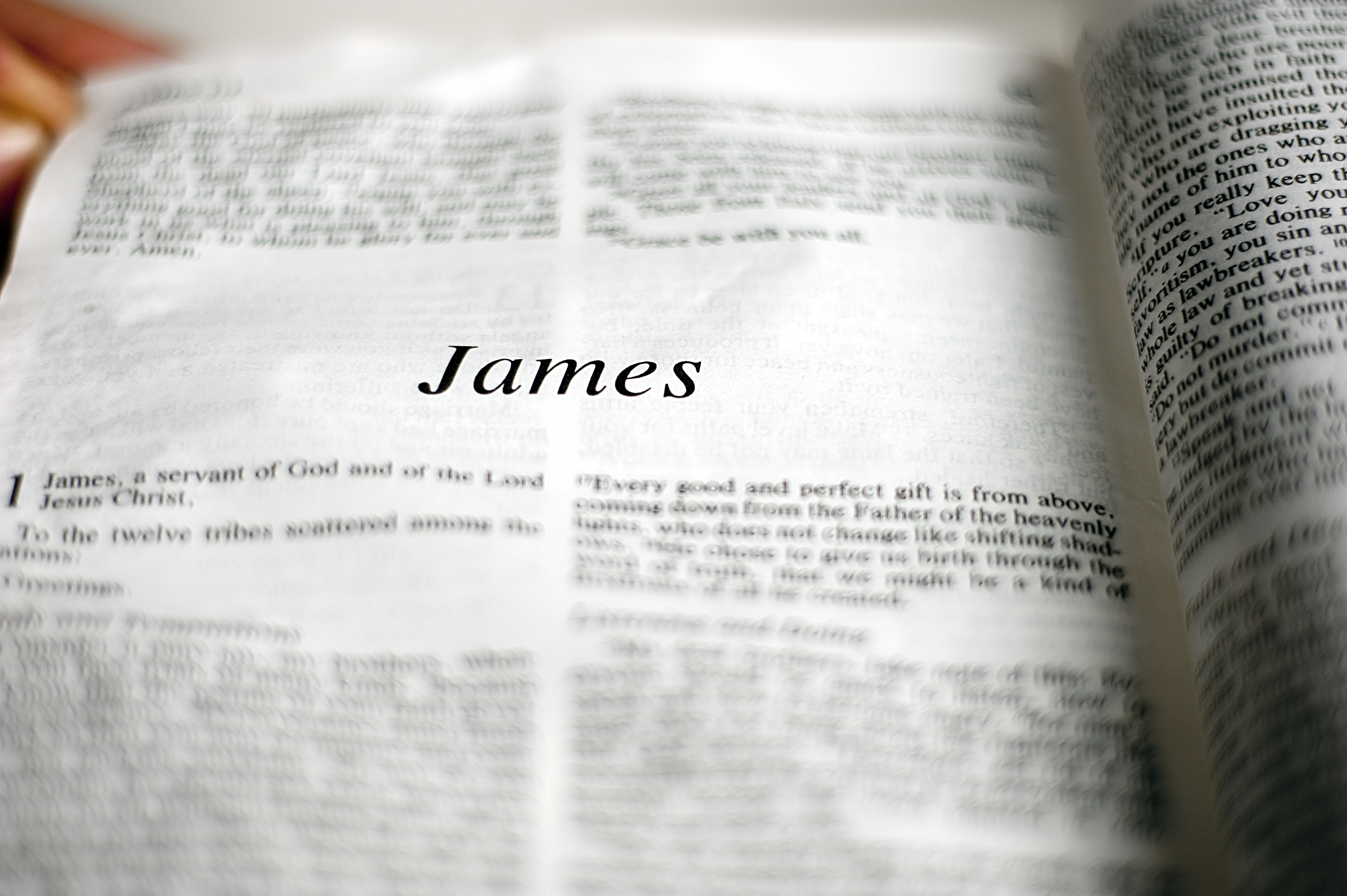 What Seniors Moving into Assisted Living Can Learn from the Book of James