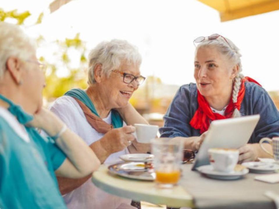 aging ladies