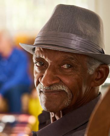 Cecil's Photo, Bethesda Senior Living Communities Hospice Care, CO