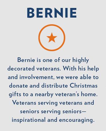 Bernie,Bethesda Senior Living Communities Independent Living, CO