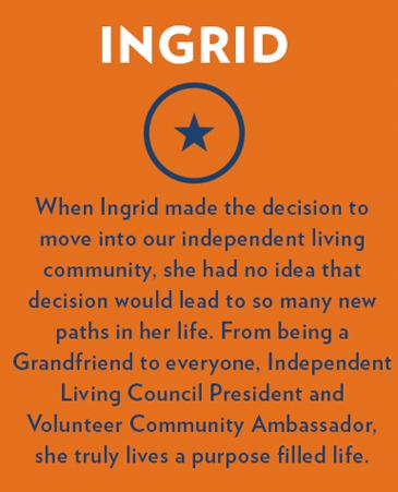 Ingrid, Bethesda Senior Living Communities Independent Living, CO