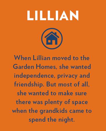 Lillian, Bethesda Senior Living Communities Garden Homes, CO