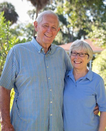 John and Katie's Photo, Bethesda Senior Living Communities Garden Home, CO